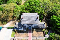 House viewed from lighthouse, Saint Augustine Fl Royalty Free Stock Photos
