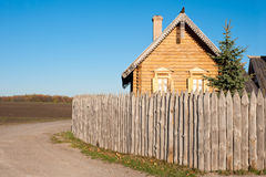 The house in village Stock Photos