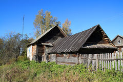 House in village Stock Image