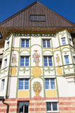House in the village of Bad Toelz, Upper Bavaria Stock Photography