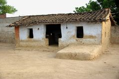 House in a village, Rajasthan Stock Images