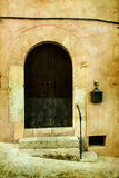 House in village Valldemossa in Mallorca, Spain Royalty Free Stock Images