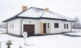 house vintern arkivbild
