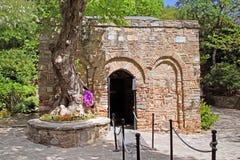 The House of the Virgin Mary (Meryemana), Tyrkey Royalty Free Stock Images