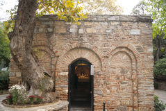 A house of Virhin Mary. In Turkey serving as a chapel now Royalty Free Stock Image