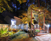 House Walkway royalty free stock image