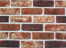 House wall with clinkers. To thermal insolation Royalty Free Stock Images