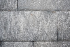 House wall from granite Stock Image