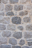 House wall made of natural stone Royalty Free Stock Photography