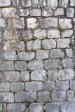 House wall made of natural stone Stock Photo