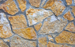 House wall made of stones Stock Photo