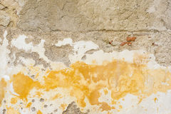 House wall restore renovate. As a background Royalty Free Stock Image
