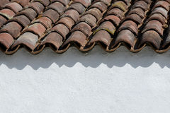 House wall and roof Royalty Free Stock Photo