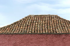 House wall and roof Royalty Free Stock Photography