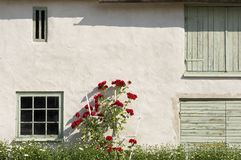 House wall and window Royalty Free Stock Images