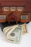House and wallet Stock Photography