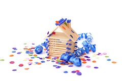 House-warmingparty Lizenzfreies Stockfoto