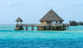 House on water. Sea side Stock Photography