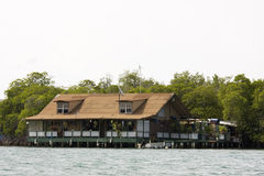 House on the water Stock Photos