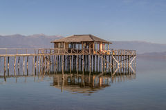 House on Water Royalty Free Stock Images