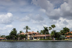 House on the Water Stock Photography