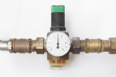 House water pressure reducer Royalty Free Stock Images