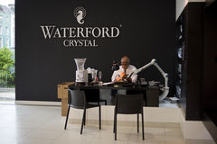 House of Waterford Crystal. In Waterford, Ireland. Photo taken on 26 June 2014 Royalty Free Stock Images