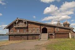 The house of a wealthy Karelian farmer. Stock Photos