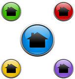 House web buttons Royalty Free Stock Photography