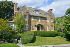 House in Westmount Royalty Free Stock Photo