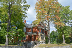 House in Westmount Royalty Free Stock Image