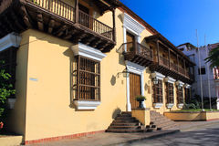 House where Castro lived in Santiago de Cuba, Cuba Royalty Free Stock Photo