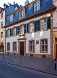 House, where Karl Marx was born, Trier Royalty Free Stock Photo