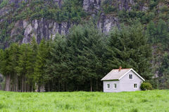 House in wilderness Stock Photography