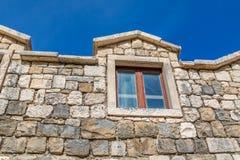 House window Tucepi Royalty Free Stock Images