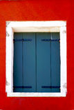 House Window with white frame Royalty Free Stock Images