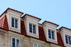 House windows Royalty Free Stock Photography