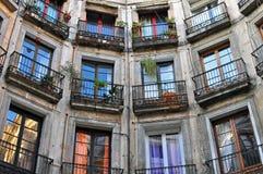 House Windows Stock Image