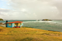 An  house on the windward side of bequia Stock Image
