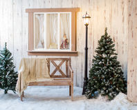 House winter Stock Images