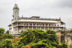 House of Wonders. The House of Wonders or Palace of Wonders (in Arabic: Beit-al-Ajaib) is a landmark building in Stone Town, Zanzibar. It is the largest and Royalty Free Stock Photography
