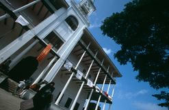 The House of Wonders, Stone Town, Zanzibar Stock Image