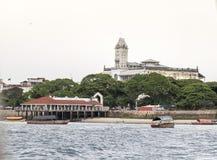 House of Wonders. In Stone Town, Zanzibar, Tanzania Royalty Free Stock Image