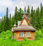 House in a wood Royalty Free Stock Image