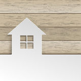 House Wood Cover Stock Photos