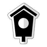 House wooden bird icon. Vector illustration design Royalty Free Stock Image