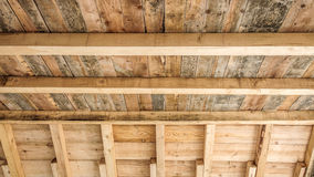 House wooden ceiling Stock Photo