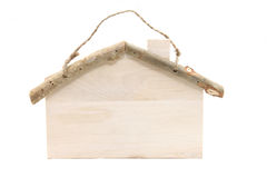 House wooden sign Stock Image