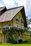 House in the woods. Binh An Village Resort, Dalat, Vietnam Stock Image