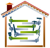 House work Royalty Free Stock Images